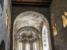 Romanesque Basilica of St. George in Prague Stock Photography