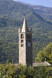 Romanesque bell tower Royalty Free Stock Photo