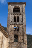 Romanesque bell tower of Beget Royalty Free Stock Photos