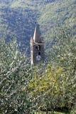 Romanesque bell tower Stock Photos