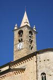 Romanesque bell tower Royalty Free Stock Images