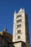 Romanesque bell tower - Tuscany Stock Image