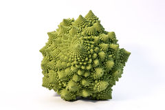 Romanesque cabbage top-view Royalty Free Stock Image