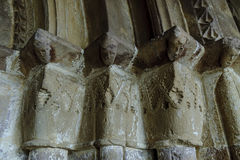 Romanesque capital Royalty Free Stock Images