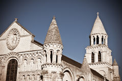 Romanesque Cathedral Royalty Free Stock Images