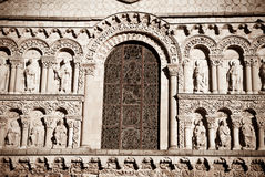 Romanesque Cathedral Royalty Free Stock Photos