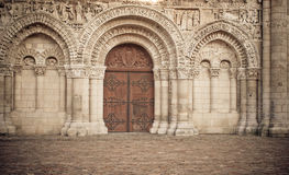 Romanesque Cathedral Royalty Free Stock Image