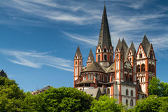 Romanesque cathedral of Limburg Stock Photography
