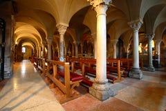 Romanesque cathedral Modena Italy Royalty Free Stock Photos