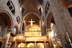 Romanesque cathedral Modena Italy Stock Image