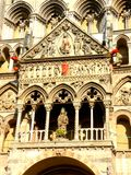 The Romanesque Cathedral Stock Photo