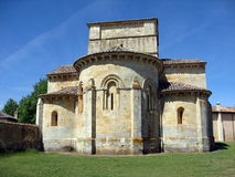 Romanesque chapel, Castile-Leon,Spain Royalty Free Stock Image