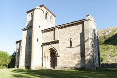 Romanesque chapel Royalty Free Stock Images