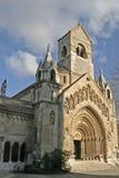 Romanesque church royalty free stock image