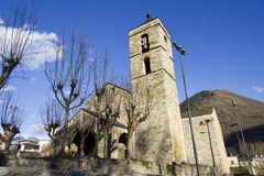 Romanesque Church Royalty Free Stock Photography