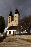Romanesque church Stock Images