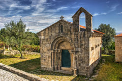 Romanesque church of Boelhe in Penafiel royalty free stock photography