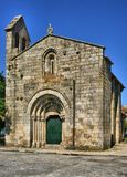 Romanesque church of Cedofeita in Oporto stock photo