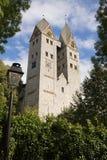 The Romanesque church in Dietkirchen an der Lahn, Germany Stock Photo