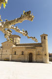 Romanesque Church of Fromista on the way to Santiago, Palencia, Spain Stock Image