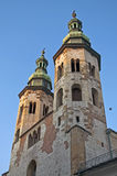 Romanesque church in Krakow Stock Photo