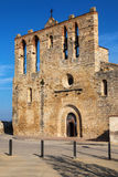 Romanesque church of Peratallada Royalty Free Stock Images