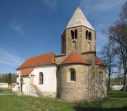 Romanesque church in Reznovice in Moravia Stock Photo