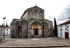 Romanesque church of S. Pedro de Rates royalty free stock images