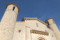 Romanesque Church Stock Image