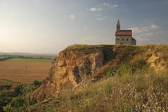 Romanesque church Saint Michael in Slovakia Stock Image