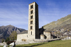 Romanesque church of San Clemente de Taull Stock Photography