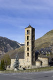 Romanesque church of San Clemente de Taull Stock Image