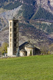 Romanesque church of San Clemente de Taull Royalty Free Stock Photo