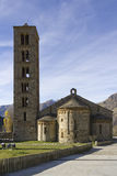 Romanesque church of San Clemente de Taull Stock Images