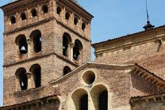 Romanesque church of san martin, segovia Stock Photo
