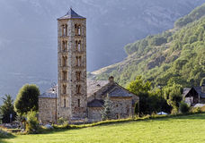 Romanesque church of Sant Climent de Taull, Spain Stock Photos