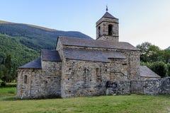 Romanesque church of  Sant Feliu Barruera, Catalonia Royalty Free Stock Photography