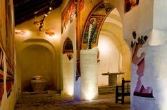 Romanesque church Sant Joan de Boi,la Vall de Boi, Spain Royalty Free Stock Photo