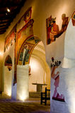 Romanesque church Sant Joan de Boi,la Vall de Boi Royalty Free Stock Photography