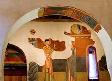 Romanesque church Sant Joan de Boi,la Vall de Boi, Spain Royalty Free Stock Photography