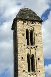 Romanesque church Sant Miquel d�Engolasters, Andorra Stock Image