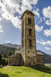 Romanesque church Sant Miquel d�Engolasters, Andorra Royalty Free Stock Images