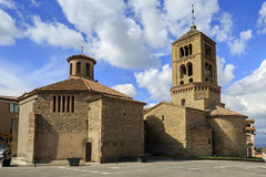 Church of Santa Eugenia de Berga Royalty Free Stock Photo