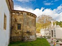 Romanesque church of Santa Maria de Merza royalty free stock image