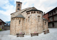 Romanesque church of Santa Maria de Taull, Catalonia, Spain Royalty Free Stock Photography