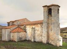 Romanesque Church of Santa Marina. In Monastery of Rodilla , Burgos , Spain Royalty Free Stock Photography