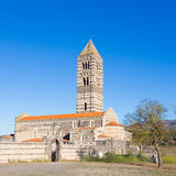 Romanesque church of Santa Trinita di Saccargia. Stock Images
