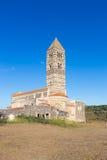 Romanesque church of Santa Trinita di Saccargia. Royalty Free Stock Photo