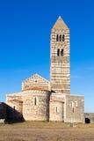 Romanesque church of Santa Trinita di Saccargia. Royalty Free Stock Photos