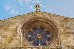 Romanesque church of Santo Domingo, Soria, Castile and Leon, Spa Stock Photo